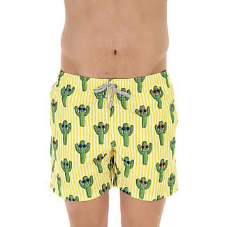 Swim Shorts Trunks for Men On Sale, Blue, polyester, 2017, S M L MC2 Saint Barth