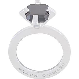 Mehem small rectangular gemstone ring - Metallic nNHwF