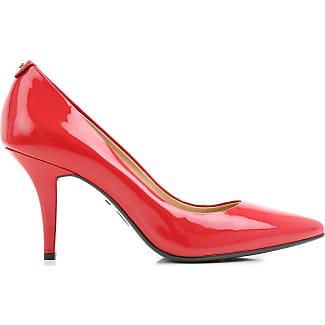 Zapatos de Tacón de Salón Baratos en Rebajas, Rojo, Charol, 2017, 35 36 36.5 37 37.5 38 38 38.5 39 40 40 Michael Kors
