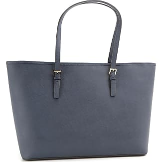 Michael Kors Tote Bag, Admiral Blue, Leather, 2017, one size