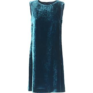Dress for Women, Evening Cocktail Party On Sale, Ottanio Blue, Viscose, 2017, 14 Missoni