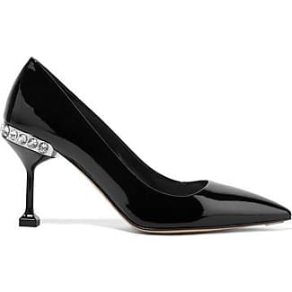 Pumps & High Heels for Women On Sale in Outlet, Pewter, Leather, 2017, 7.5 Miu Miu