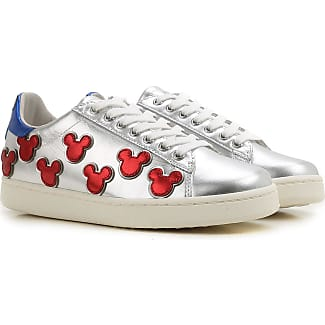 Sneakers for Women On Sale, Disney, Silver, Glitter, 2017, 4.5 7.5 MOA Master Of Arts