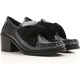 Loafers for Women On Sale, Black, Patent Leather, 2017, 3.5 4.5 5.5 7.5 Morob