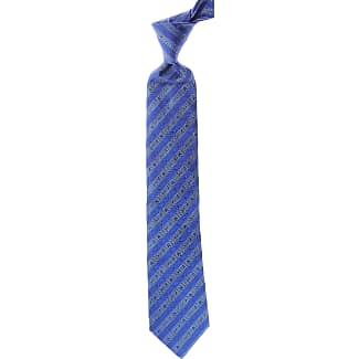 Ties On Sale, Cobalt Blue, Silk, 2017, one size Moschino
