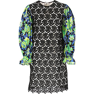 Dress for Women, Evening Cocktail Party On Sale, Black, polyester, 2017, UK 12 - US 10 - EU 44 Msgm