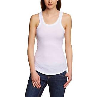 Womens Crew Neck Sleeveless T-Shirt Mustang qni15uj