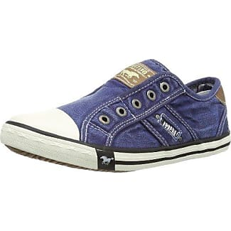 Mustang - Zapatillas para mujer, Azul (841 Jeans Azul), eur 39
