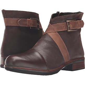 Boots for Women, Booties On Sale, Brown coffee, Leather, 2017, 8.5 Moma