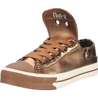 Mighty - Zapatos para mujer, color dorado, talla 37 nat-2