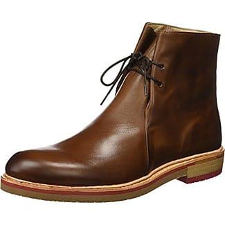 Neosens S496 Restored Skin Cuero/Greco Zapatos de Cordones Oxford, Hombre, Marrón (Cuero), 41 EU (7 UK)