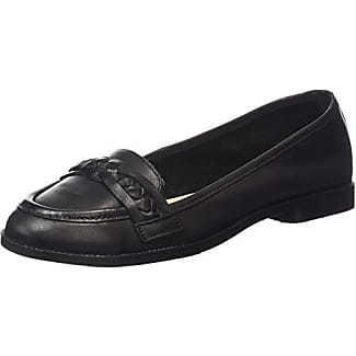 Jarry Trim, Mocasines Mujer, Black (black/01), 36 EU New Look