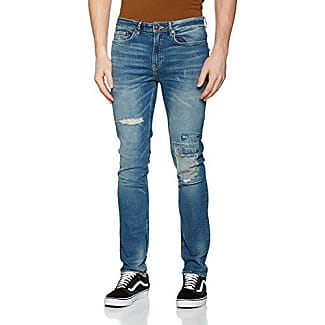Mens Bright Tapered Fit Jeans New Look Fake For Sale Really Cheap Big Sale Cheap Price iXue4Vlfq