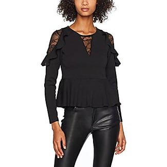 Reliable Cheap Price Cheap Nicekicks Womens Lace Insert Scuba Peplum Blouse New Look Cheap Best Place New And Fashion Quality Original LTNtMfgQ