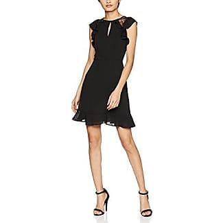 New Look Go Sparkle Mesh Ruffle, Vestido de Fiesta para Mujer, Negro (Black 1), 44