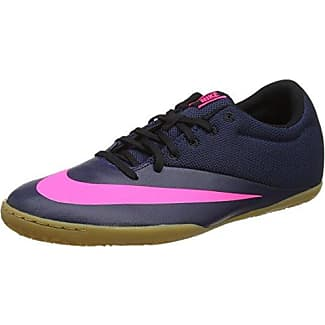 Nike Hypervenom Phade II IC, Chaussures de Football en Salle Mixte Enfant, Noir (Black/White-Volt-Paramount Blue), 36.5 EU