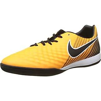 Nike Magistax Onda II IC, Chaussures de Football Homme, Orange (Laser Orange/Black-White-Vert Volt-White), 42 EU