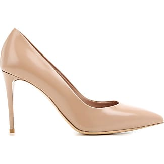 Pumps & High Heels for Women On Sale, Dark Nude, Leather, 2017, 2.5 4.5 6.5 7 Nina Lilou