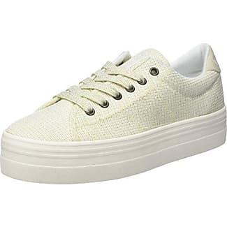 No NamePlato Sneaker Pink Twill P, Tiger - Botas de Caño bajo Mujer, Azul (Bleu (Navy Fox White)), 39 Desconocido
