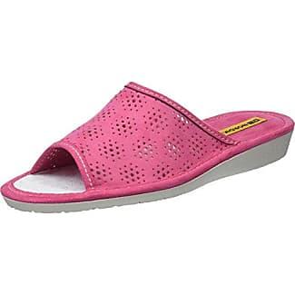 Microfiber Quilted Terry Slide, Pantoufles Femme, Rose (Fresh Pink 00657), 38/39 EUDearfoams