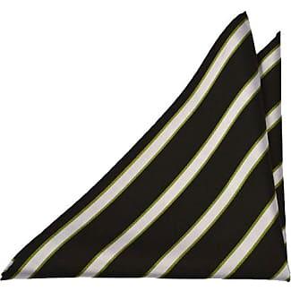 Handkerchief from Tieroom, Notch NATANAEL, stripes, lilac, yellow, green Notch