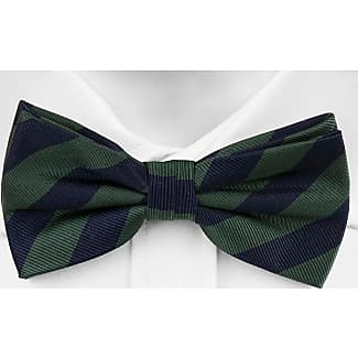 untied bow tie from Tieroom, Notch STORM has marine blue base & sporty stripes in dark red and white Notch