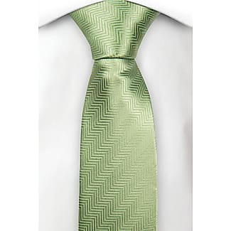 Silk boys tie - Solid olive green colour - Notch OMAR Notch R9Ss1eIBx