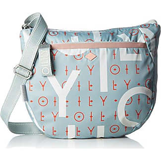 Jolly Letters Shoulderbag Xshf, Womens Shoulder Bag, White (Offwhite), 6x12x17 cm (B x H T) Oilily