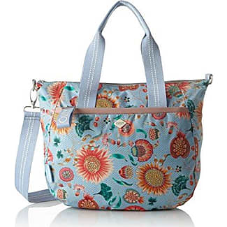 Groovy Letters Handbag Mhz, Womens Bag, Blue (Light Blue), 15x25x33 cm (B x H T) Oilily