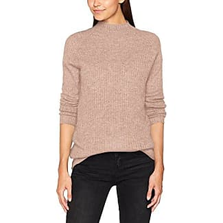 Only Onlorleans L/s St Highneck Pullover Knt, Suéter para Mujer, Rosa (Adobe Rose Detail:w Melange), 36 (Talla del Fabricante: Small)
