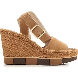 Wedges for Women On Sale in Outlet, Black, Suede leather, 2017, 6.5 8.5 Paloma Barcel��