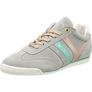 Pantofola Doro Barletta Suede Donne Low, Zapatillas para Mujer, Grün (Caraibi), 37 EU Pantofola D'oro