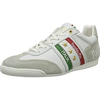 Pantofola D'oro Imola Funky Uomo Low, Zapatillas para Hombre, Blanco (Bright White), 44 EU