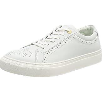 Pantofola D'oro Napoli Donné Bas, Chaussures Femmes, Blanc (blanc Brillant), 41 Ue