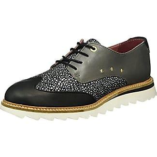 Pantofola D'oro Lecce Glitter Donne Low, Zapatillas para Mujer, Schwarz (Black), 37 EU