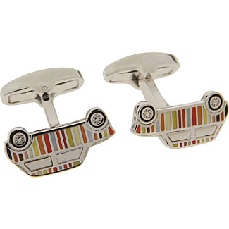 Paul Smith Cufflinks for Men On Sale, Silver, Brass, 2017, One Size