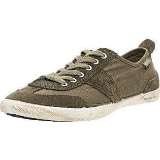 People'SWalk - Zapatillas de deporte de tela para mujer, color gris, talla 38