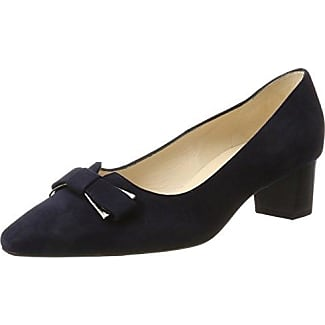 22308, Zapatos de Tacón para Mujer, Negro (Black Reptile 10), 38.5 EU Caprice