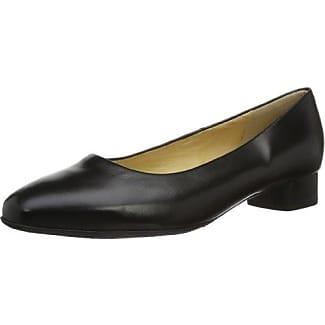 Nika - Zapatos de tacón, Negro (Schwarz (SCHWARZ CHEVRO 100 100)), 35 Peter Kaiser