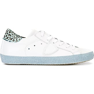 Slip on Sneakers for Women On Sale in Outlet, White, paillettes, 2017, 5.5 7.5 Philippe Model