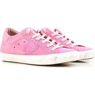 Sneakers for Women On Sale, Military, Suede leather, 2017, 8.5 Philippe Model
