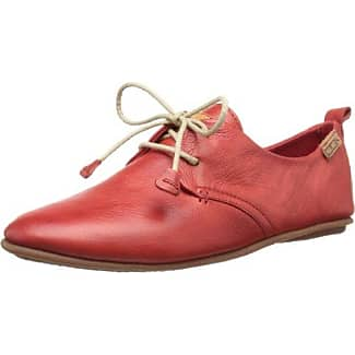 Sherry Pikolinos 578-2 - Cuir Pantoufles Femme, Rouge, Taille 36
