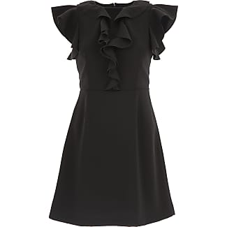 Dress for Women, Evening Cocktail Party On Sale, Black, acetate, 2017, 10 Pinko