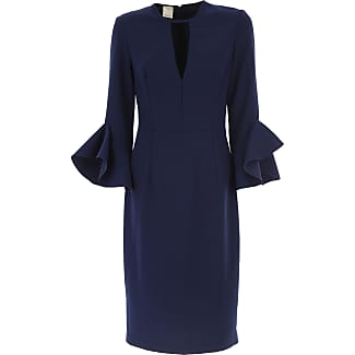 Dress for Women, Evening Cocktail Party On Sale, Navy Blue, polyestere, 2017, 10 12 6 8 Pinko