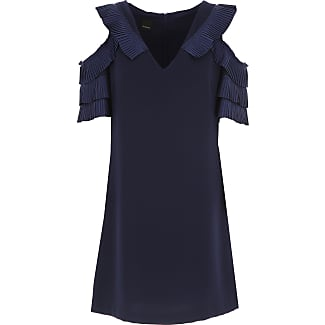 Dress for Women, Evening Cocktail Party On Sale, Black, polyester, 2017, 10 12 8 Pinko
