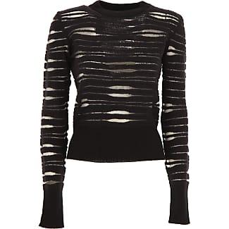 Sweater for Women Jumper On Sale, Black, Wool, 2017, 10 6 Pinko