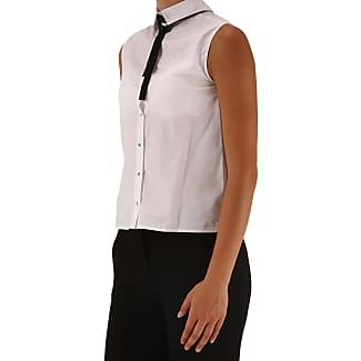 Shirt for Women On Sale, Sky Blue, Cotton, 2017, 10 12 26 28 8 Pinko