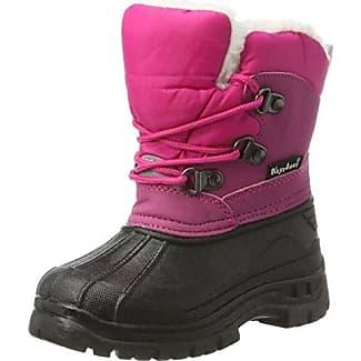 Playshoes Winterstiefel Mit Warmfutter, Botines Unisex Niños, Pink (Pink 18), 24/25 EU