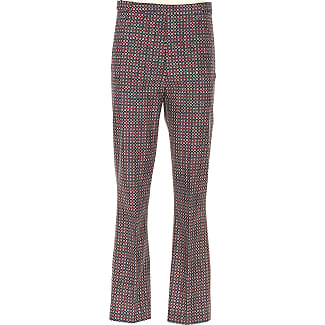 Pants for Women On Sale, Ink Blue, polyester, 2017, 24 26 28 30 32 Prada