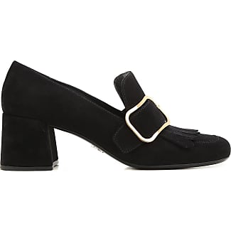 Pumps & High Heels for Women On Sale, Black, Suede leather, 2017, 2.5 3.5 5.5 Prada
